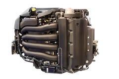 сила изолированная двигателем грузит яхту стоковые изображения rf