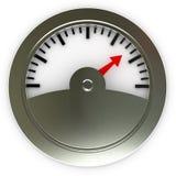 сила индикатора ровная Стоковое Фото