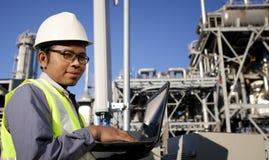 Сила и энергия инженера Стоковые Фото