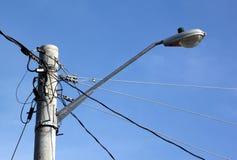 сила кабелей Стоковое Изображение RF