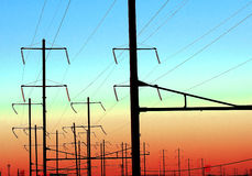 сила кабелей Стоковые Изображения