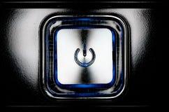 сила кнопки Стоковые Изображения RF