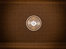 сила кнопки стоковые фотографии rf