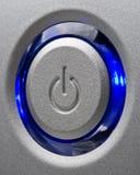 сила кнопки Стоковое фото RF