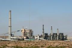 сила промышленного завода Стоковая Фотография RF