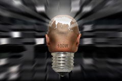 сила разума Стоковая Фотография RF