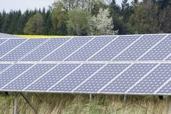 сила солнечная южная Испания завода панелей Стоковое Фото