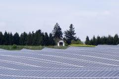 сила солнечная южная Испания завода панелей Стоковое Изображение
