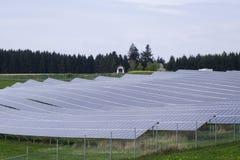 сила солнечная южная Испания завода панелей Стоковые Фотографии RF