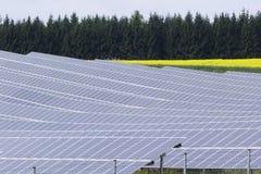 сила солнечная южная Испания завода панелей Стоковое Изображение RF
