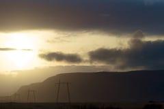 сила тумана решетки Стоковые Фото