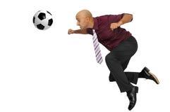 сила футбола Стоковая Фотография RF