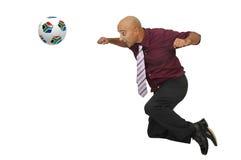 сила футбола Стоковые Фотографии RF