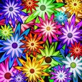 сила цветка предпосылки Стоковая Фотография RF