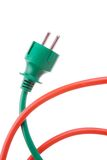 сила штепсельной вилки шнура к Стоковая Фотография RF