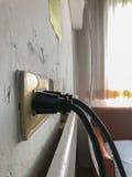 Сила штепсельной вилки Стоковое Изображение RF