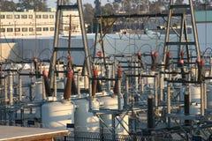 сила электрических генераторов Стоковая Фотография RF