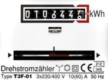 сила электрического счетчика Стоковые Изображения RF
