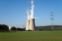 сила ядерной установки Стоковые Изображения RF