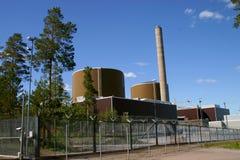 сила ядерных установок Стоковое фото RF