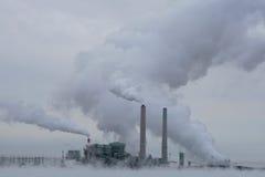 сила polluting завода Стоковая Фотография RF