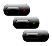 сила tv кнопок Стоковое Изображение RF