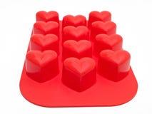 силикон сердца форменный Стоковое фото RF