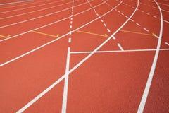 Силовые линии поля спорта Стоковое Изображение RF