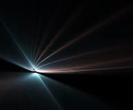 силовые линии поля энергии Стоковое фото RF