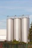 силосохранилища пива стоковые фото