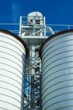 Силосохранилище для зерна стоковые фотографии rf