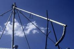силосохранилище зерна парашюта стоковая фотография rf