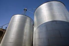 силосохранилище зерна Стоковое Фото