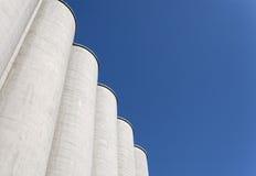 силосохранилище зерна Стоковая Фотография