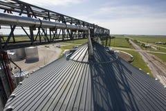 силосохранилище зерна Стоковое фото RF