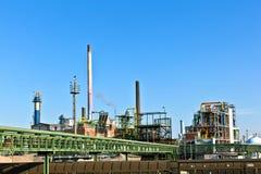 силосохранилище парка индустрии печной трубы Стоковое Фото