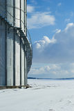 Силосохранилище для зерна Стоковая Фотография RF