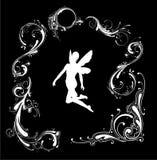 силуэт ангела Стоковое фото RF