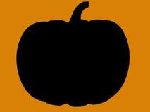 силуэт иллюстрации halloween Стоковое Фото