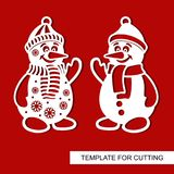 Силуэт снеговика бесплатная иллюстрация