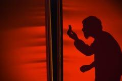 силуэт танцульки самомоднейший Стоковые Фотографии RF