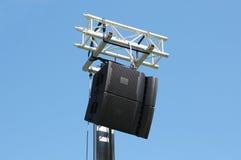 Силы акустическая система outdoors Стоковые Фотографии RF