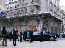 Сильва президента Португалии cavaco Стоковые Изображения RF