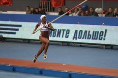 Сильва Yarisley - кубинский vaulter полюса Стоковые Изображения RF