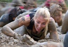 Сильная гонка грязи Викинга Стоковые Фотографии RF