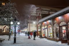 Сильные снежности в феврале Стоковые Фото