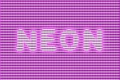 Сильный неон зарева Стоковые Фото