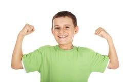 Сильный ребенок Стоковое Фото