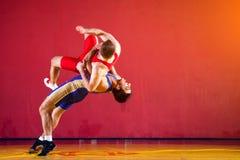 2 сильных борца Стоковое Фото