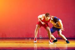 2 сильных борца Стоковая Фотография RF